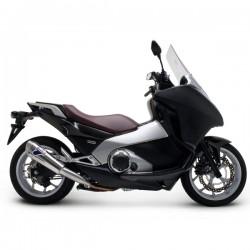 Silencieux Termignoni homologué inox Honda NC 700 / 750 Integra 2012-2015