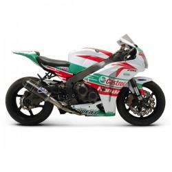 Ligne Termignoni inox silencieux carbone Honda CBR 1000 RR 2011-2013