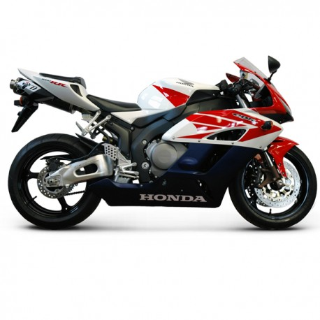 Silencieux Termignoni homologué titane Honda CBR 1000 RR 2004-2005, illustration version carbone (H063080CO)