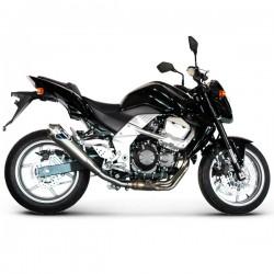 """Silencieux Termignoni conique inox """"GP Style"""" homologué Kawasaki Z 750 2007-2012"""
