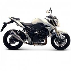 Silencieux Termignoni homologué look carbone Suzuki GSR 750 2011-2016