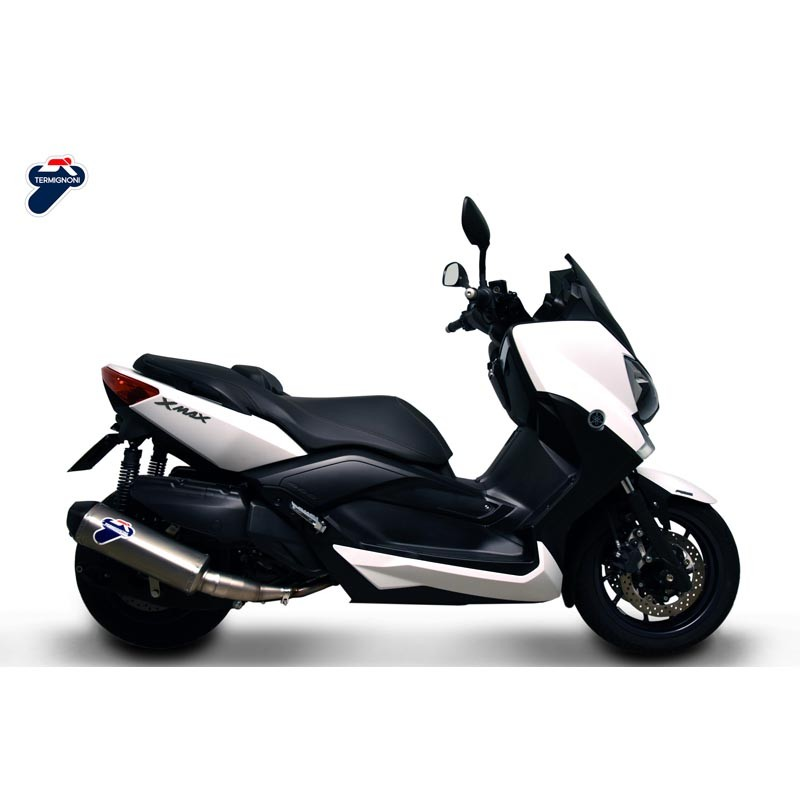 silencer termignoni stainless steel carbon yamaha xmax. Black Bedroom Furniture Sets. Home Design Ideas
