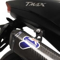 Y11309000ICC Ligne Termignoni silencieux carbone Yamaha Tmax 530 2017-2019