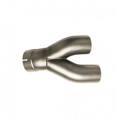 Tube intermédiaire Termignoni position standard pour BMW NineT 16-17