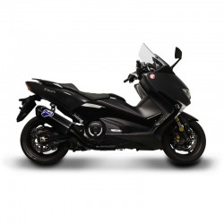 Y11309000BBC Ligne Termignoni Black Edition carbone Yamaha Tmax 530 (2017-2018)