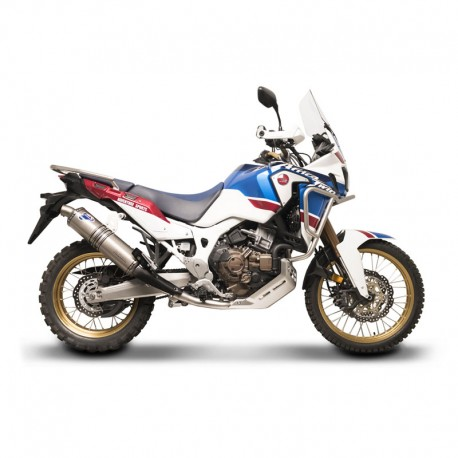 Full titanium system termignoni honda africa twin crf 1000 Whats bigger full or twin