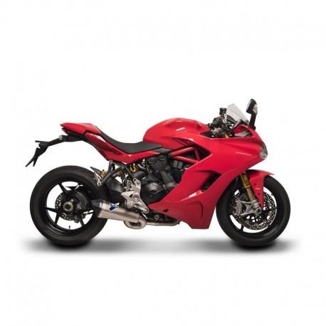 Demi-ligne Termignoni silencieux titane / carbone Ducati Supersport (16-18)