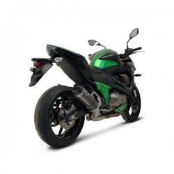 Silencieux Termignoni tout carbone homologué Kawasaki Z 800 2013-2016