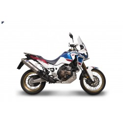 Silencer slip on Termignoni homologated (Euro4) for Honda Africa Twin 2018
