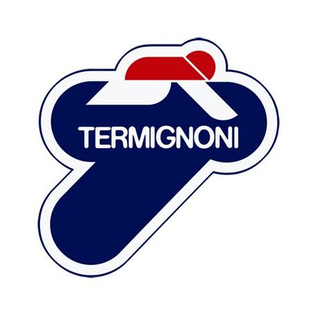 Pack of 6x sticker heat resitant Termignoni 110x110 mm