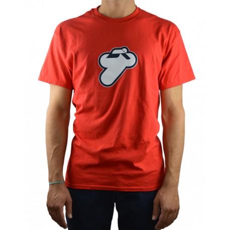 T shirt rouge avec logo Termignoni, tailles: S, M, L