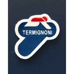 Customize your clothes with the official Termignoni logo patch 75x75 mm