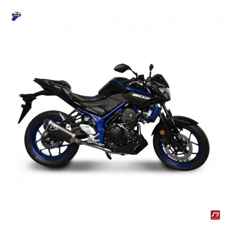 Silencieux Termignoni carbone Yamaha MT 03 (2018)