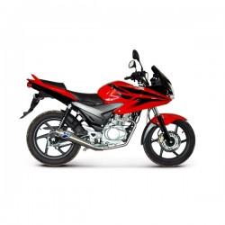 Complete exhaust line Termignoni homologated inox for Honda CBF 125 09-12