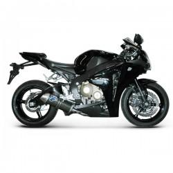 Ligne Termignoni 4 en 2 en 1 avec silencieux carbone Honda CBR 1000 RR 2008-2012