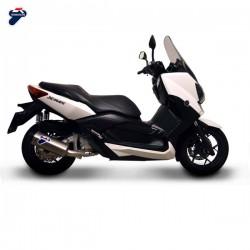 Y10909040IIC Silencieux Termignoni inox carbone Yamaha Xmax 250 (09-19)