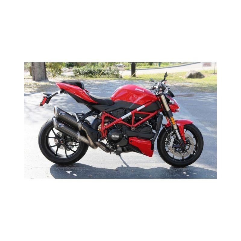 Termignoni slip on carbon Ducati Streetfighter 848 1098 D106