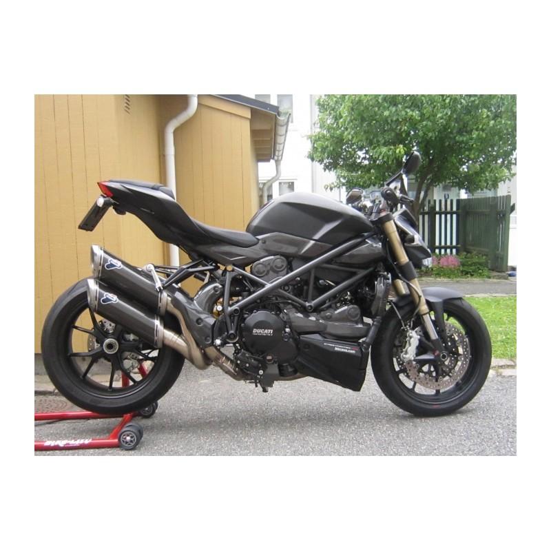 Termignoni slip on carbon Ducati Streetfighter 848 1098 D106 96454711B