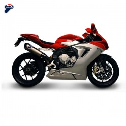 Silencieux Termignoni racing carbone MV Agusta F3 675/800 2012-2016