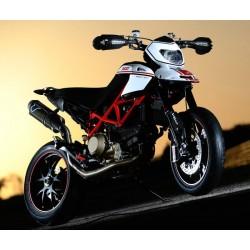 Complete exhaust system Termignoni carbon pour Ducati Hypermotard 796 - 1100 - 1100 EVO - 1100 EVO SP