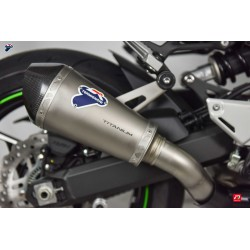 Slip on exhaust Termignoni conical titanium carbon for Kawasaki Z 900 2017-2019