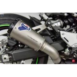 Silencieux Termignoni conique titane embout aluminium CNC anodisé pour Kawasaki Z900 2017-2019