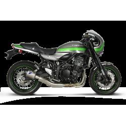 Silencieux Termignoni hexagonal titane et carbone pour Kawasaki Z 900 RS 2018-2019