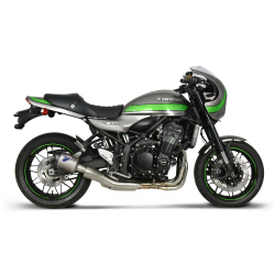 Slip on exhaust Termignoni hexagonal titanium with carbon end cap for Kawasaki Z900 RS 2018-2019