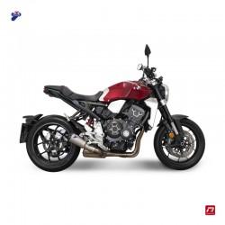 Silencieux Termignoni conique titane embout aluminium CNC anodisé pour Kawasaki Z900 RS 2018-2019