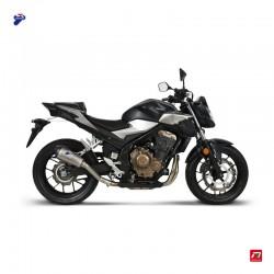 Silencieux Termignoni Honda CB 500 F/ X, CB 500 F/X A2, CBR 500 R/R A2 2019