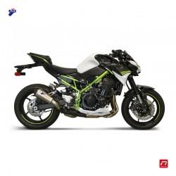 Silencieux Termignoni conique titane carbone pour Kawasaki Z 900 2020