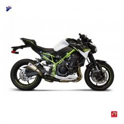 Silencieux Termignoni conique inox embout inox pour Kawasaki Z900 2020