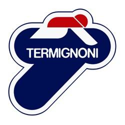 Replacement carbon end cap kit for Termignoni K072 KA. ER6 N 2012-2016