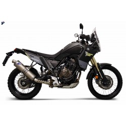 Slip on Termignoni titanium Yamaha Tenere 700 2019-2020