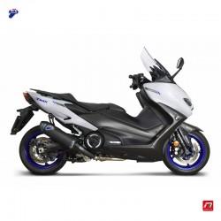 Termignoni exhaust system titanium black for Yamaha Tmax 560 2020
