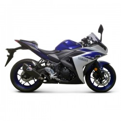 Silencieux Termignoni carbone Yamaha YZF-R3 2015-2016