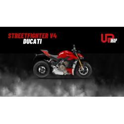 Upmap Termignoni Ducati Streetfighter V4 et V4S 2020