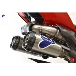"""Ligne Termignoni """"Reparto Corse"""" Inox-Titane-Carbone Ducati Panigale 1100 V4 2018-2021, 1000 V4 / V4 R 2019-2021"""