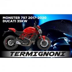 Termignoni Upmap full power Ducati Monster 821 35 Kw 2018