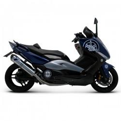 Ligne Termignoni inox homologuée Yamaha Tmax 500 2008-2011