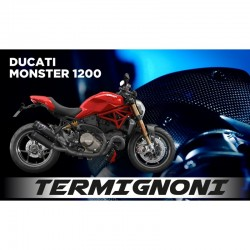 Termignoni Upmap full power Ducati Monster 821 35 Kw 2018