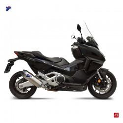 Slip on silencer Termignoni titan carbon for Honda Forza 750 2021