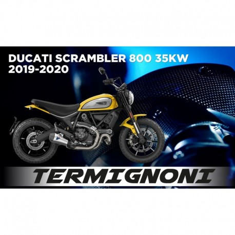 Upmap Termignoni Ducati Scrambler 800 35KW 2017-2018