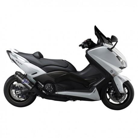 "Ligne Termignoni ""Black Edition"" carbone homologuée Yamaha Tmax 530 2012-2016"