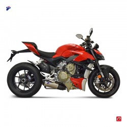 Termignoni slip on system for Ducati Streetfighter V4 1100, V4 S 1100 2021 Euro5