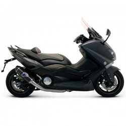 Termignoni titan/carbon EC on Yamaha Tmax 530 (12-16). Illustration full carbon (Y099080CV)