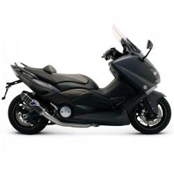 Y099094CV Ligne d'échappement Termignoni racing carbone (Y099094CV) pour Yamaha Tmax 530 (12-16)