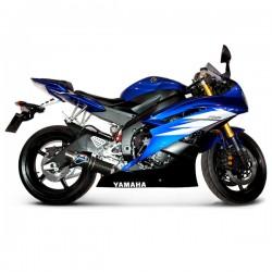 Silencieux Termignoni carbone homologué Yamaha YZF-R6 2006-2016