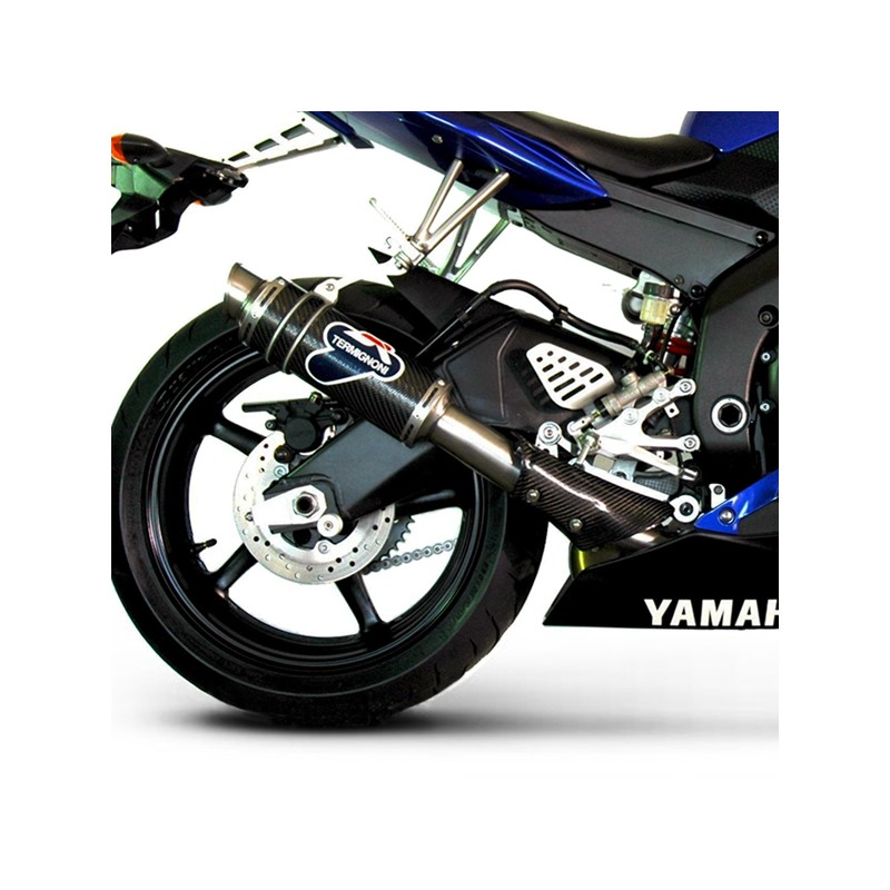 silencieux termignoni style gp carbone yamaha yzf r6 2006 2016. Black Bedroom Furniture Sets. Home Design Ideas