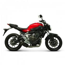 Complete Termignoni exhaust carbon Yamaha MT-07 (14-17), XSR 700 (15-17)
